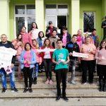 Oтбелязването на Деня на розовата фланелка