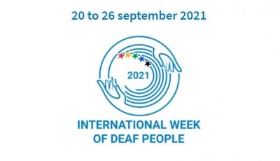 Отбелязваме международната седмица на глухите хора 20-26.09.2021